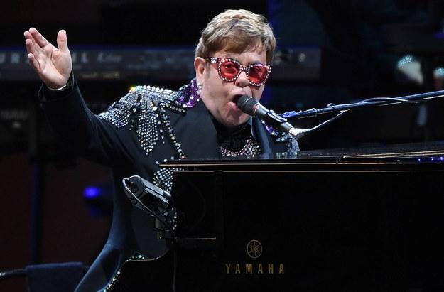 Elton John /JULIAN SMITH /PAP/EPA