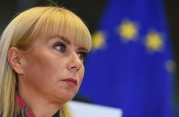 Elzbieta Bieńkowska, komisarz europejska ds. wewnętrznego rynku i przemysłu /AFP