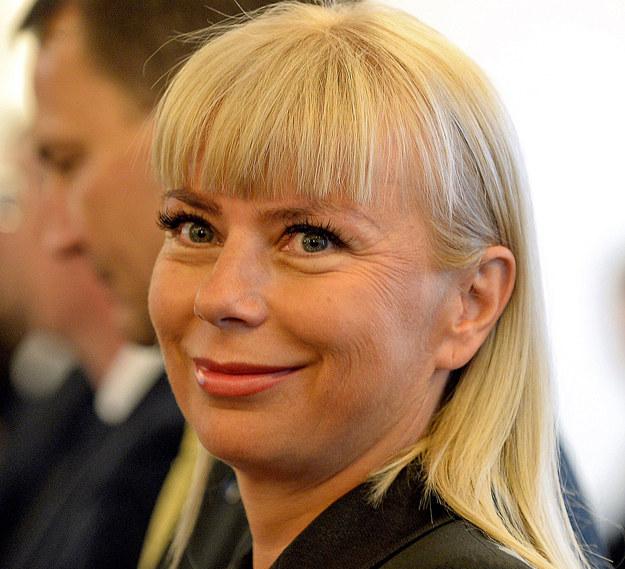 Elżbieta Bieńkowska, komisarz UE ds. rynku wewnętrznego, przemysłu, przedsiębiorczości oraz małych i średnich firm /AFP