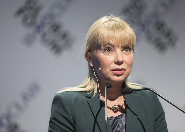 Elżbieta Bieńkowska, minister infrastruktury. Fot. LESZEK KOTARBA /Agencja SE/East News