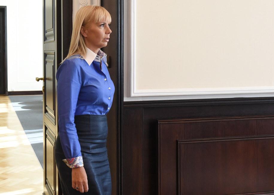Elżbieta Bieńkowska //Radek Pietruszka /PAP