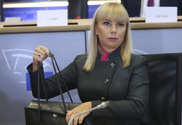 Elżbieta Bieńkowska /OLIVIER HOSLET /PAP/EPA