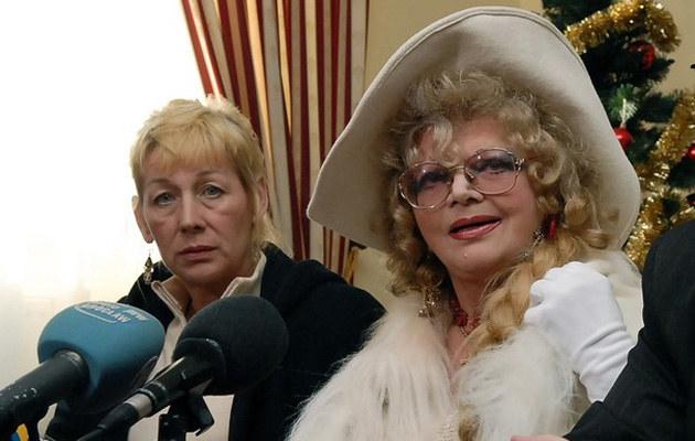 Elżbieta Budzyńska, Violetta Villas, 2007 r. /Poloch /Reporter