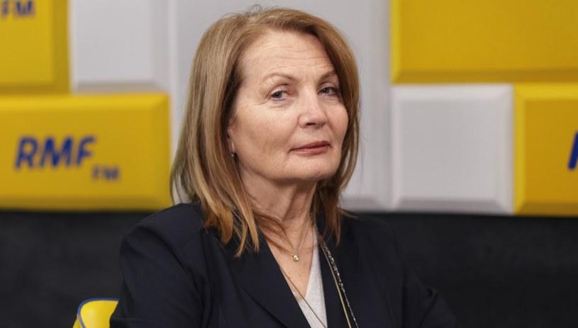 Elżbieta Chojna-Duch była gościem Porannej rozmowy w RMF FM /Karolina Bereza /RMF FM