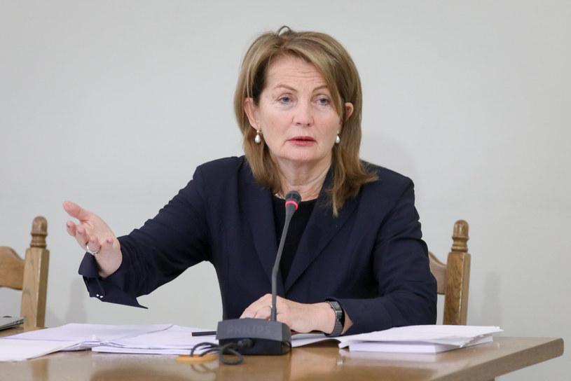 Elżbieta Chojna-Duch: Przyjęłam propozycję zostania sędzią Trybunału Konstytucyjnego /Andrzej Iwańczuk /Reporter