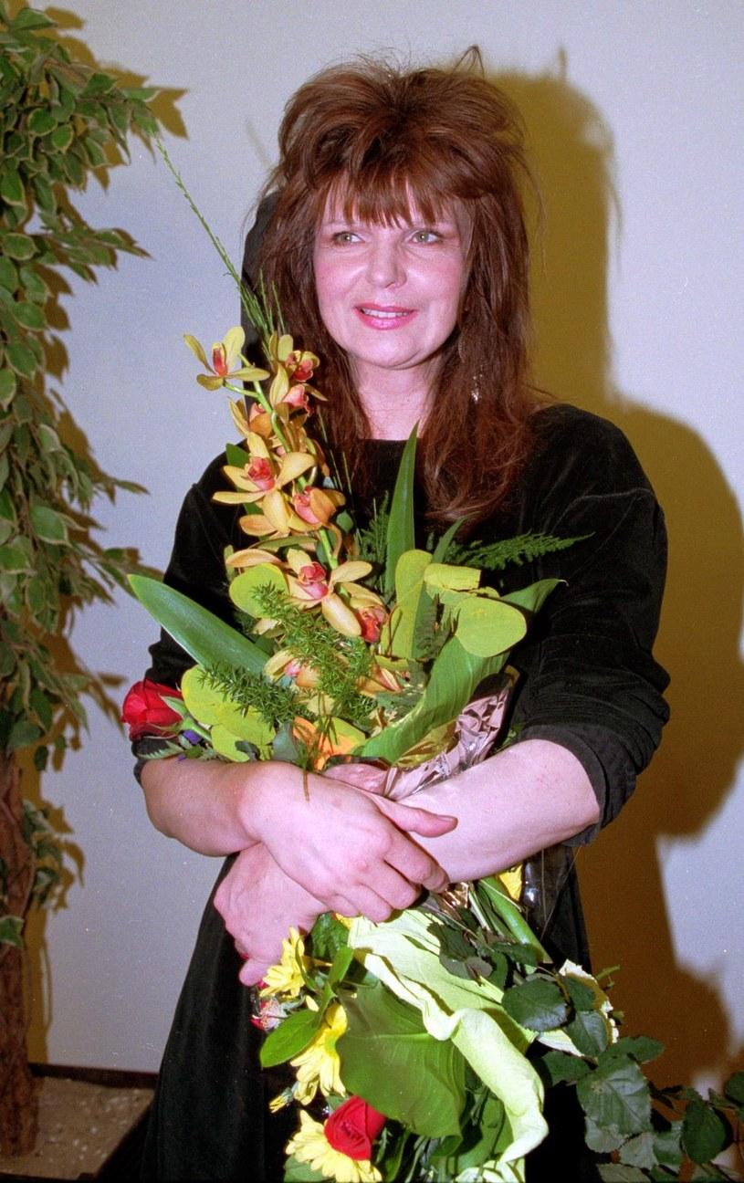 Elżbieta Dmoch, 1998 rok /Agencja FORUM