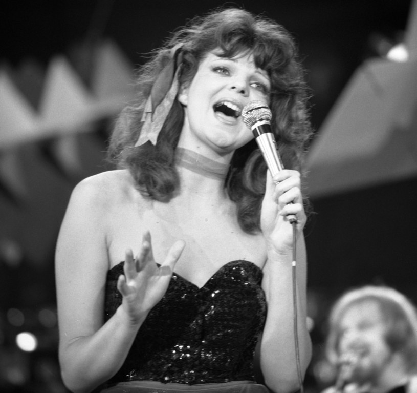 Elżbieta Dmoch na festiwalu w Opolu, 1979 r. /Andrzej Wiernicki /Agencja FORUM