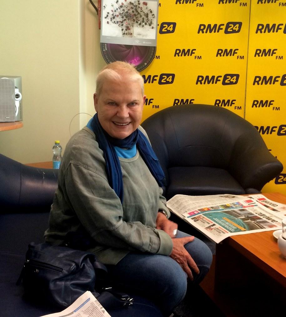 Elżbieta Dzikowska w studiu RMF FM /RMF FM