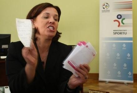 Elżbieta Jakubiak, fot: Łukasz Grochala /Agencja Przegląd Sportowy