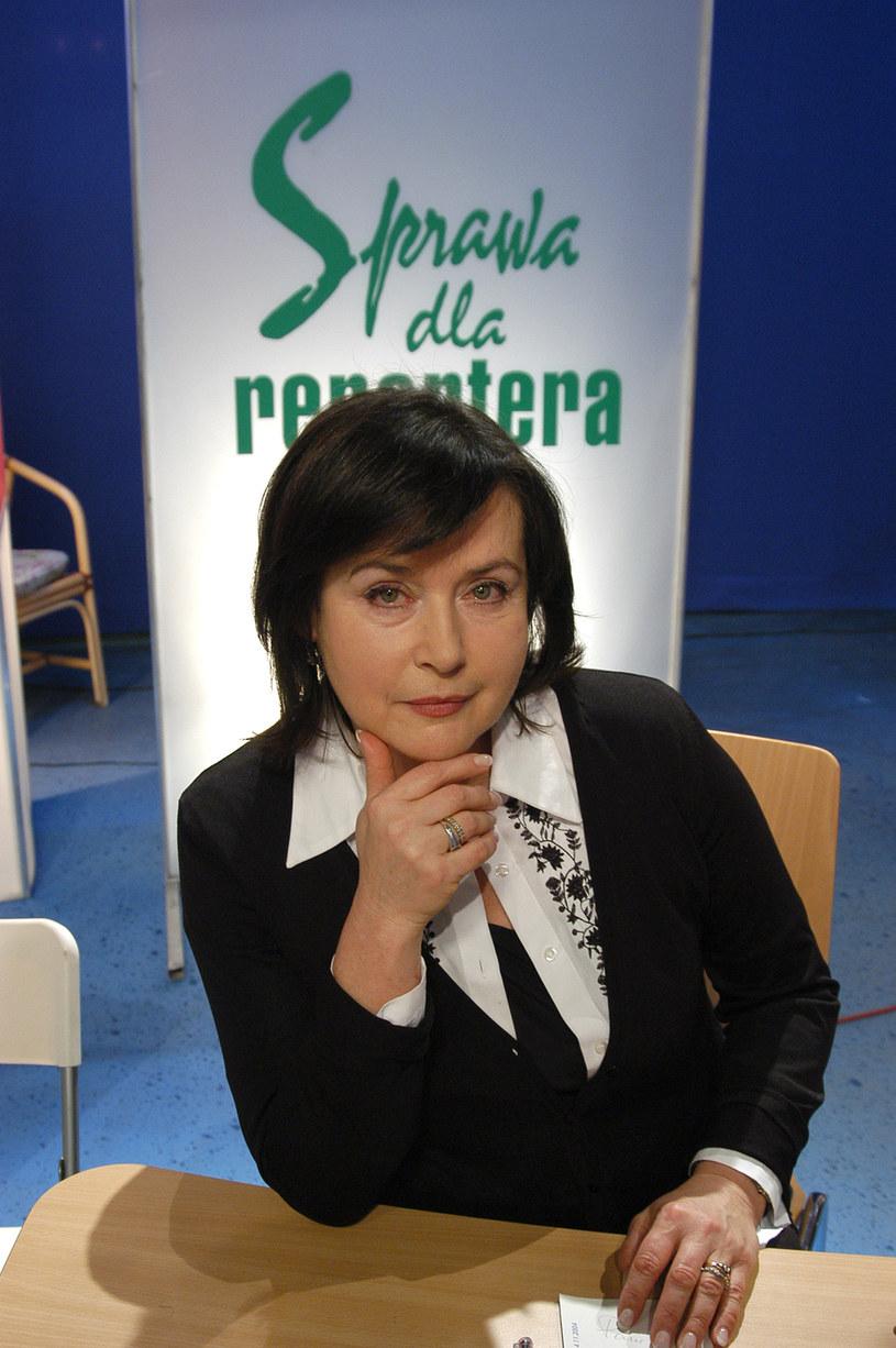 Elżbieta Jaworowicz /AKPA