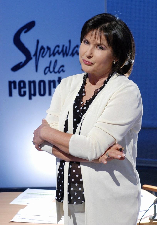 Elżbieta Jaworowicz /TVP /Agencja FORUM