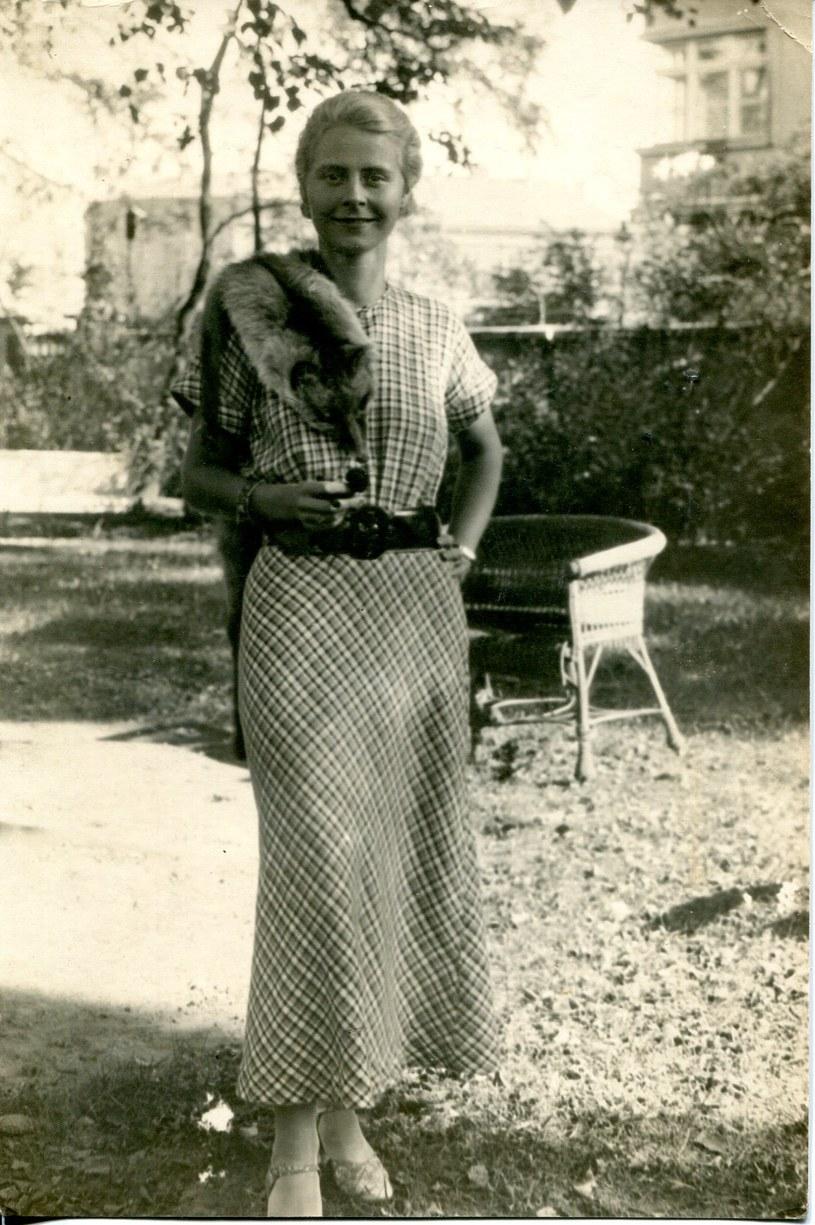Elżbieta Kossak była kobietą elegancką i dystyngowaną /fot. archiwum rodzinne Kossaków /materiały prasowe