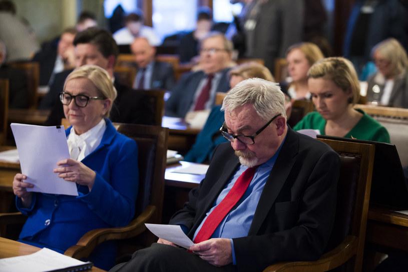 Elżbieta Koterba i Jacek Majchrowski /ANDRZEJ BANAS / POLSKA PRESS /East News