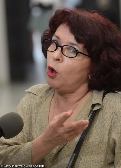 Elzbieta Kruk (PiS) zajmuje się zmianami w mediach. Fot Witold Rozbicki /Reporter