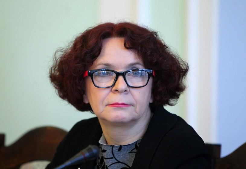 Elżbieta Kruk, przewodnicząca komisji kultury /STANISLAW KOWALCZUK /East News