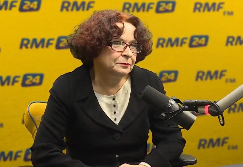 Elżbieta Kruk: Ze standardami w telewizji publicznej jest wszystko OK /RMF