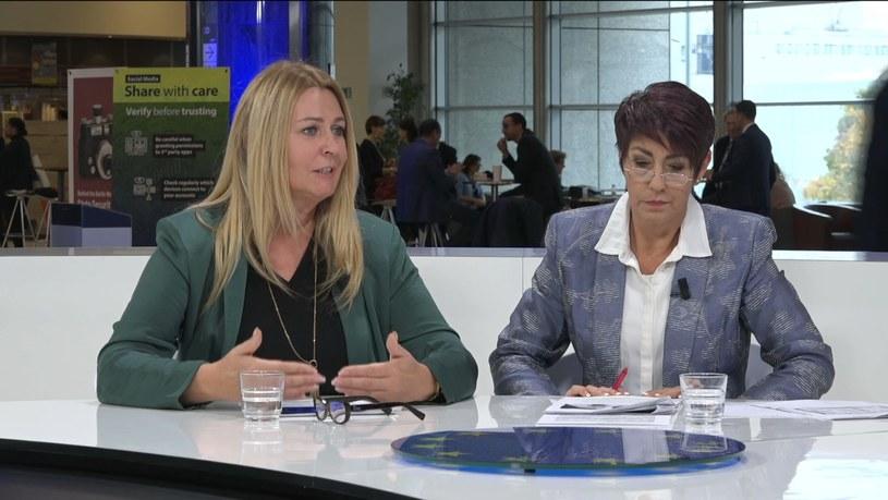 Elżbieta Łukacijewska i Christine Anderson /INTERIA.PL