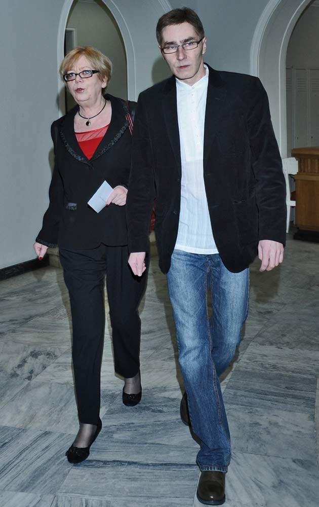 Elżbieta ma duże wsparcie w swoim partnerze, Andrzeju Kruku, fot.Andras Szilagyi  /MWMedia