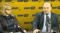 Elżbieta Radwan i Paweł Terlecki w Popołudniowej rozmowie w RMF FM.