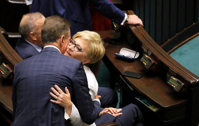 Elżbieta Radziszewska podczas swojego ostatniego posiedzenia Sejmu / Jakub Kamiński    /East News