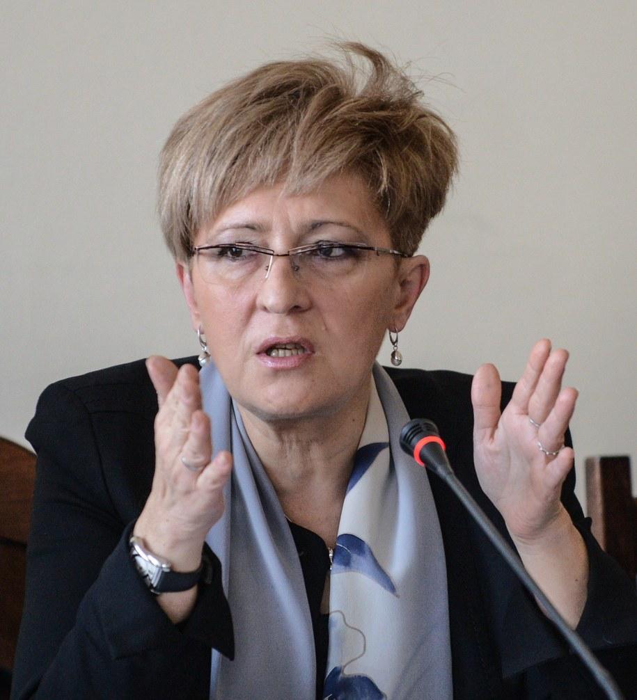 Elżbieta Radziszewska /Jakub Kamiński   /PAP