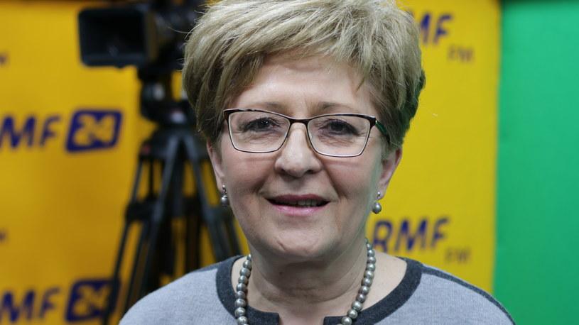 Elżbieta Radziszewska /Michał Dukaczewski /RMF FM