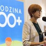 """Elżbieta Rafalska dementuje informacje o pracach nad """"1000 plus"""""""