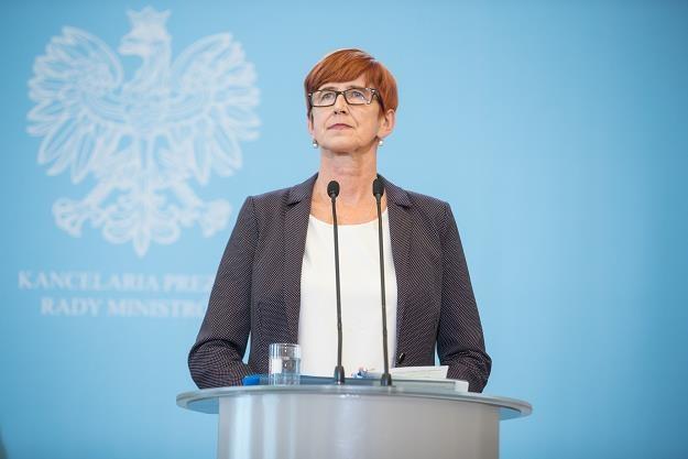 Elżbieta Rafalska /fot. Aleksandra Szmigiel /Reporter