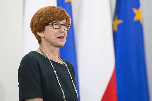 Elżbieta Rafalska /fot. Andrzej Hulimka /PAP