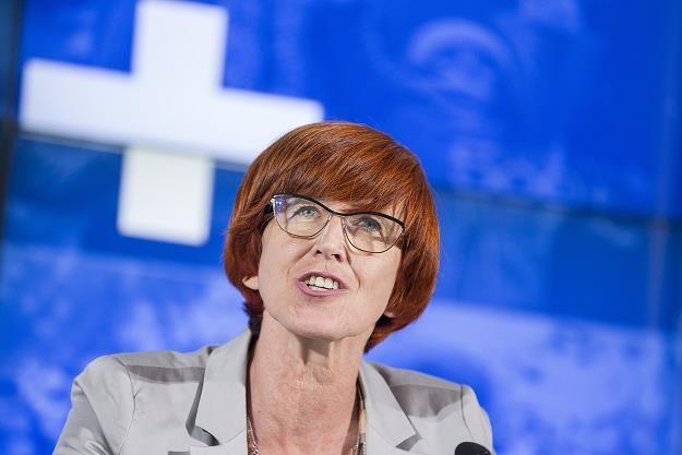 Elzbieta Rafalska /fot. Andrzej Iwanczuk /Reporter