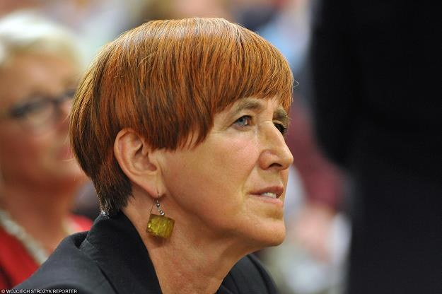 Elżbieta Rafalska. Fot.  Fot. Wojciech Stróżyk /Reporter