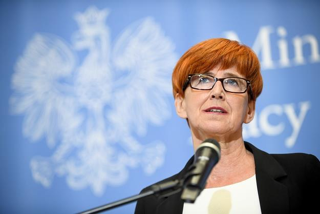 Elżbieta Rafalska /fot. Jacek Turczyk /PAP