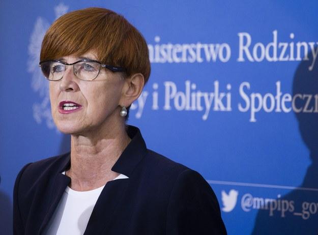 Elżbieta Rafalska /fot. Krystian Dobuszynski /Reporter