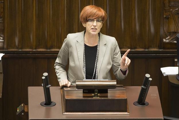 Elżbieta Rafalska. Fot. Maciej Łuczniewski /Reporter
