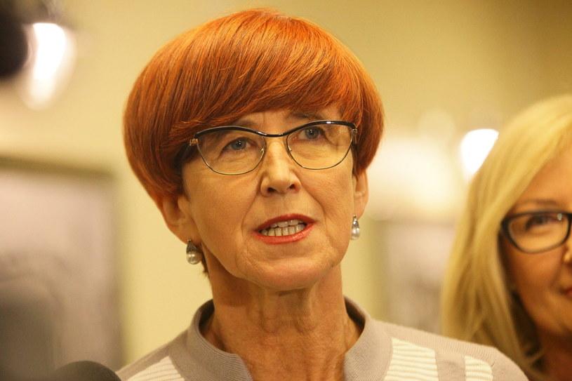 Elżbieta Rafalska gościem Porannej rozmowy w RMF FM /Grzegorz Gałasiński, Polska Press /East News