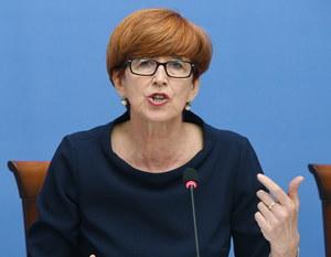 Elżbieta Rafalska: KE dostała przyspieszenia we wrogich działaniach wobec Polski