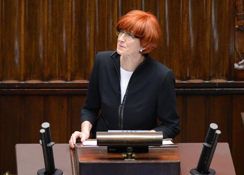 Elżbieta Rafalska, minister pracy i polityki społecznej /Jacek Turczyk /PAP