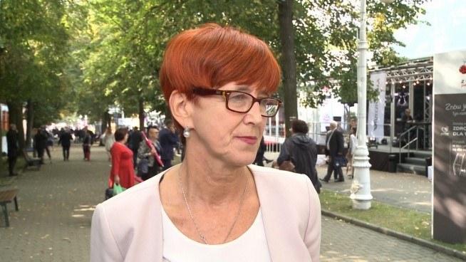 Elżbieta Rafalska, minister pracy, rodziny i polityki społecznej /Newseria Biznes