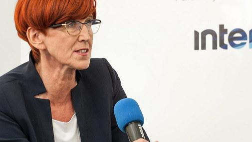 Elżbieta Rafalska, minister pracy specjalnie dla Interii