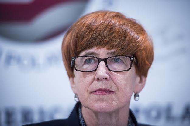 Elżbieta Rafalska, minister rodziny. Fot. Jacek Domiński /Reporter