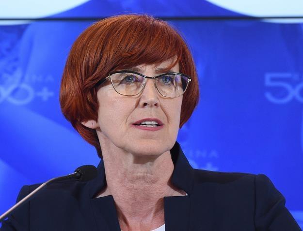 Elżbieta Rafalska, minister rodziny, pracy i polityki społecznej /PAP