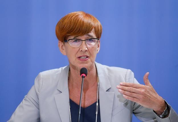 Elżbieta Rafalska, minister rodziny, pracy i polityki społecznej. Fot. Paweł Supernak /PAP