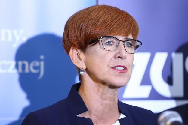 Elżbieta Rafalska, minister rodziny, pracy i polityki społecznej. Fot. Rafał Guz /PAP