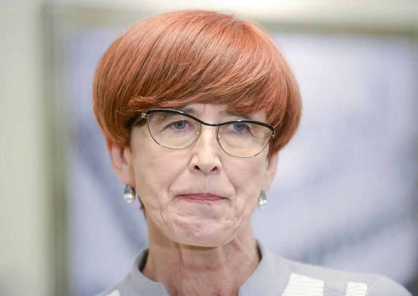 Elżbieta Rafalska o 500 plus: Udoskonalimy to, co już funkcjonuje /Piotr Kamionka /Reporter