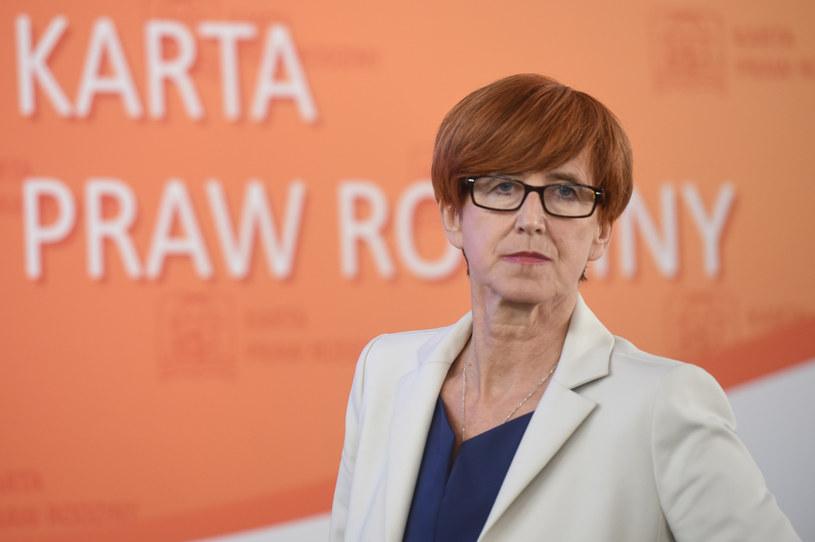 Elżbieta Rafalska /Zbyszek Kaczmarek / Gazeta Polska  /Agencja FORUM