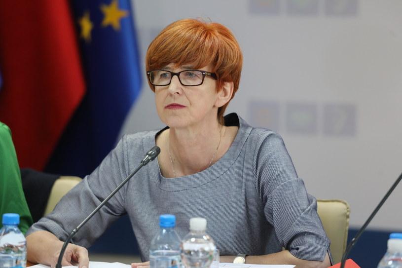 Elżbieta Rafalska /Tomasz Gzell   /PAP