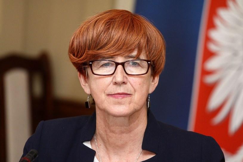 Elżbieta Rafalska /Artur Szczepański /Reporter