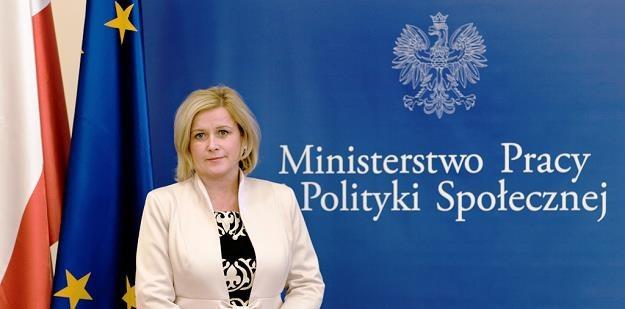 Elżbieta Seredyn, wiceminister pracy /Informacja prasowa