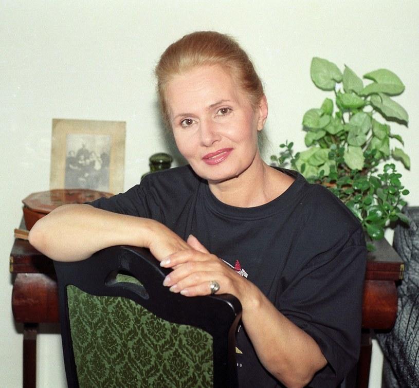 Elżbieta Sommer w latach 90. /Zenon Zyburtowicz /East News