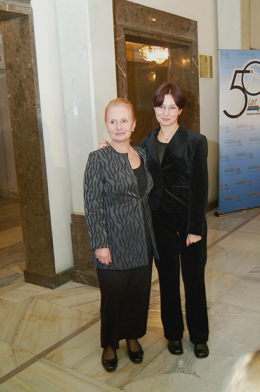 Elżbieta Sommer z córką /Niemiec /AKPA
